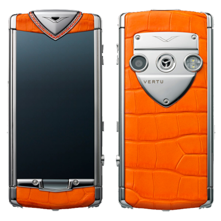 Constellation T Vertu Constellation T Candy Tangerine Нерж. сталь, оранжевая кожа