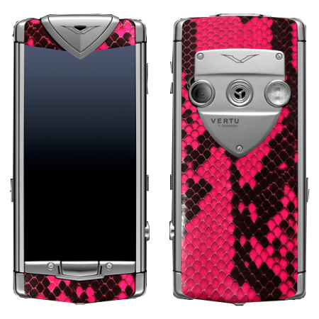 Constellation T Vertu Constellation T Python Pink