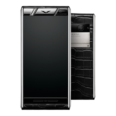 Aster Vertu Aster Diamonds Black Alligator