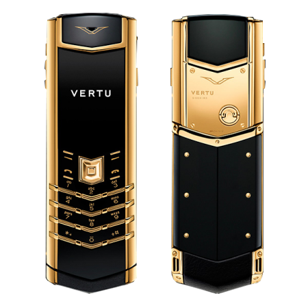 Vertu Signature S Design 18-Karat yellow gold