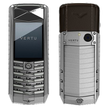 Vertu Ascent 2010 brown leather