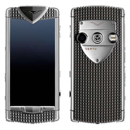 Constellation T Vertu Constellation T Smile Pebble Grey Серая резина