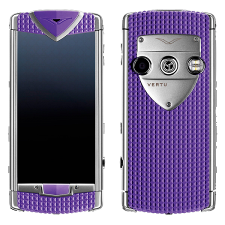 Constellation T Vertu Constellation T Smile Sea Anemon Purple Фиолетовая резина