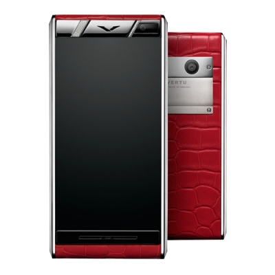Aster Vertu Aster Diamonds Red Alligator