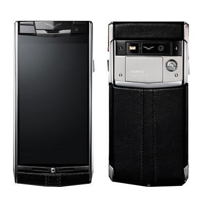 Signature touch Vertu Signature Touch Jet Leather