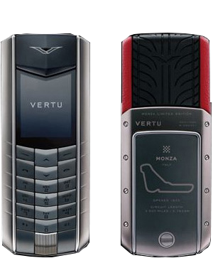 Ascent Racetrack Legends Vertu Ascent Monza Limited Editions