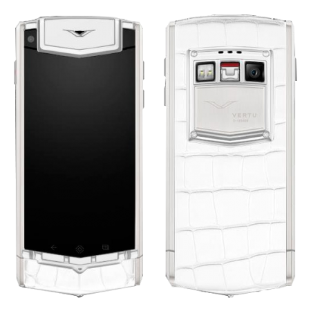 Touch Ti Vertu Ti Titanium White Alligator