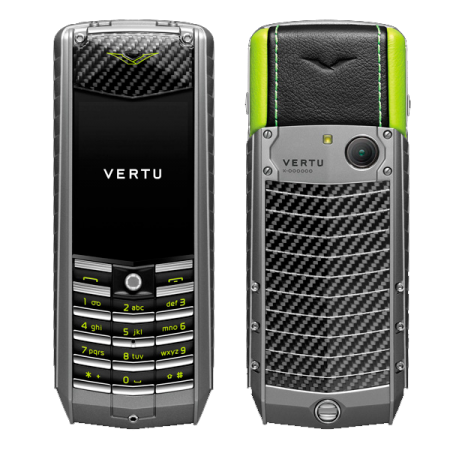 Vertu Ascent 2010 Carbon Fibre Lime Green