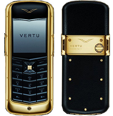 Vertu Constellation Gold Black