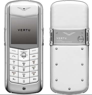 Vertu Constellation Pure White