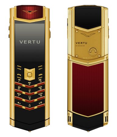 Signature S Design Vertu Signature S Design Emperor Red Enamel