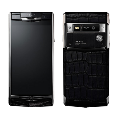 Signature touch Vertu Signature Touch Jet Alligator