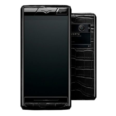 Aster Vertu Aster  Black Alligator