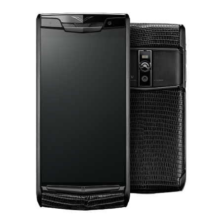 Новый Signature Touch VERTU SIGNATURE TOUCH PURE JET LIZARD