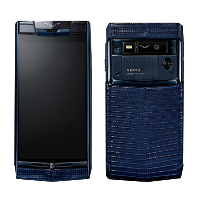 Signature touch Vertu Signature Touch Pure Navy Lizard