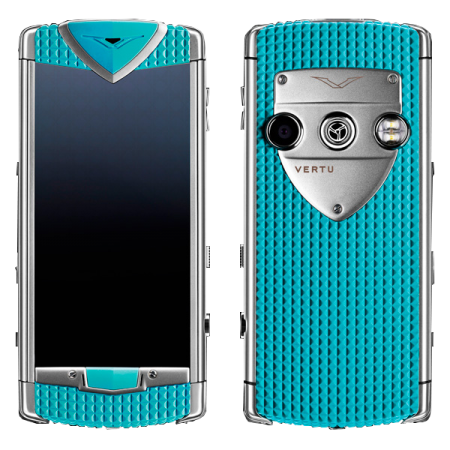 Constellation T Vertu Constellation T Smile Coral Blue Голубая резина