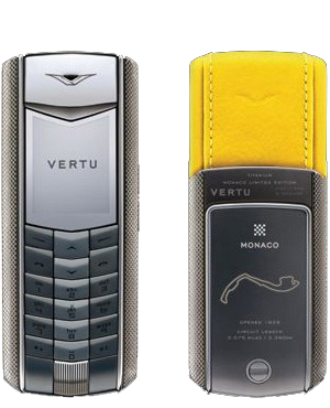 Ascent Racetrack Legends Vertu Ascent Monaco Limited Editions