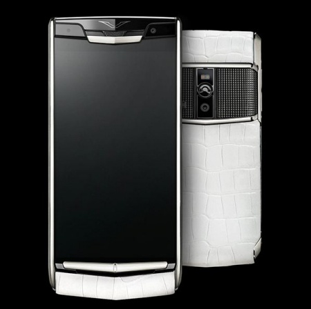Новый Signature Touch Vertu Signature Touch White Alligator
