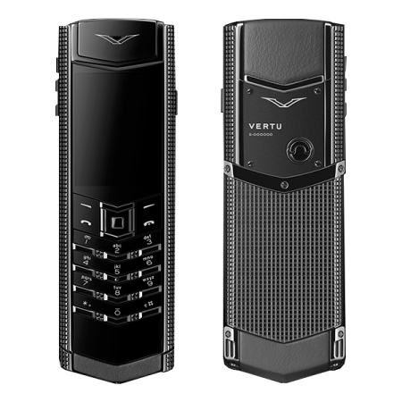 Signature S Design Vertu Signature S Design Clous De Paris PVD Black