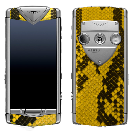 Constellation T Vertu Constellation T Python Yellow