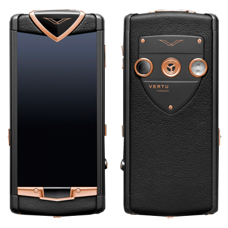 Constellation T Vertu Constellation T Stainless. steel with PVD coating, red gold