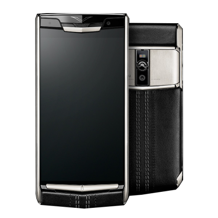New! Vertu Signature Touch Jet Calf